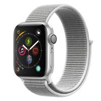 Apple Watch Series-4 GPS + Cellular 40mm Silver Aluminium Case with Seashell Sport Loop (MTVC2AE/A)
