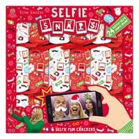"""Tom Smith  6X12"""" Selfie Snaps Crackers"""