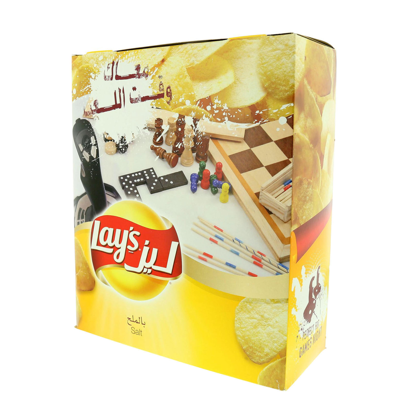 LAY'S CHIPS SALTED 23GX14