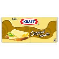 Kraft Original Cheese Slices 400g