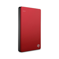 Seagate Backup Plus Portable Hard Drive 1TB Red