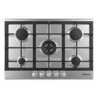 Candy Built-In Gas Cooker CPG75SWGX 75 Cm Stainless Steel
