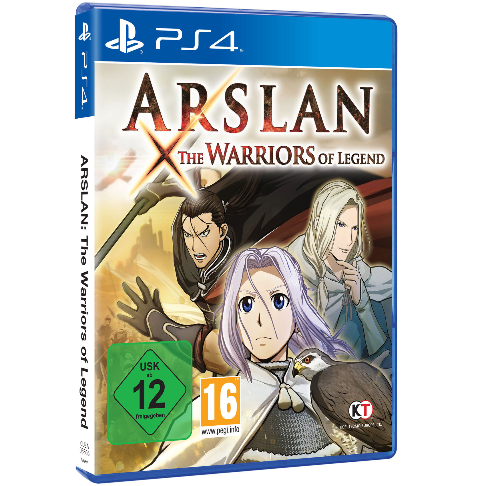 SONY PS4 ARSLAN THE WARRIORS OF LEG