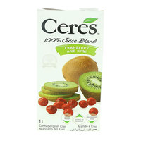 Ceres Cranberry & Kiwi Juice Blend 1L