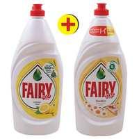 فيري سائل غسيل الصحون بالليمون 1 لتر + فيري سائل غسيل الصحون بالبابونج 1 لتر