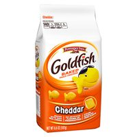 Goldfish Baked Snack Crackers Cheddar 187g
