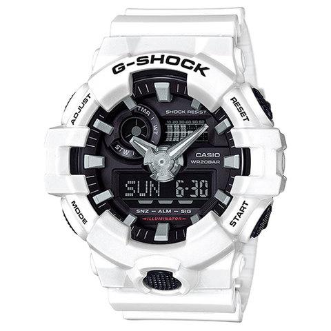 d4baabe2e15f Buy Casio G-Shock Men  39 s Analog Digital Watch GA-700-7A Online - Shop  Casio on Carrefour UAE