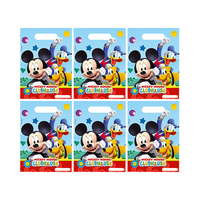 Disney Mickey Mouse Clubhouse Party Bags 6 Pieces