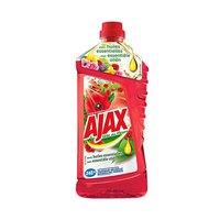 Ajax Floor Detergent Cleaner Fête Des Fleurs Red 1.25L