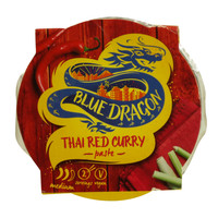 Blue Dragon Thai Red Curry Paste Medium 50g