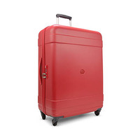 Delsey Indiscrete 66CM Medium 4 Wheel Trolleycase Red
