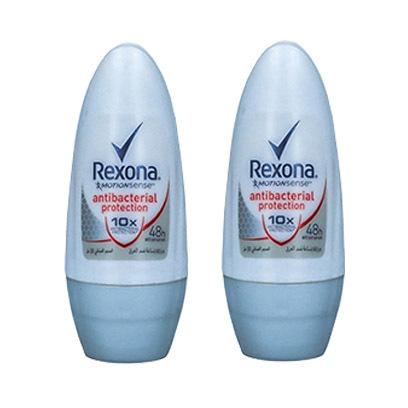 Rexona-Roll-On-Deodorant-For-Men-Antibacterial-Protection-50ML-X2-20%-Off