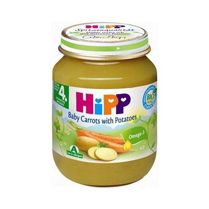 HIPP BABY CARROT POTATOESES 125GR