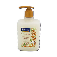 Higeen Creamy Hand & Body Wash Almond 500ML
