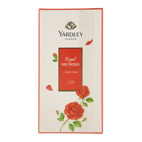 Yardley-London-Royal-Roses-Luxury-Soap-100gx3