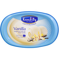 Kwality Ice Cream Vanilla 1L