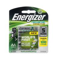 Energizer Rechargeable AA BP 4Pcs