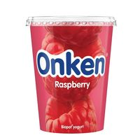 Onken Raspberry Yogurt 500g
