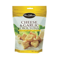 Mrs Cubbins Cheese & Garlic Croutons 141GR