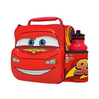 Stor Cars Character 3D Insulation Bag With Belt And Bottle