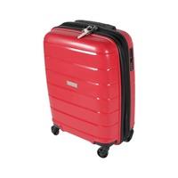 ترافل هاوس حقيبة سفر خامة صلبة من البولي بروبلين مقاس 20 إنش لون أحمر