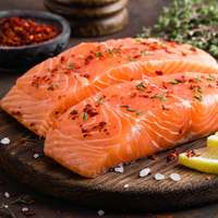 Fresh salmon fish fillet norway (per Kg)