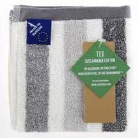 TEX Face Towel 30x30 Grey