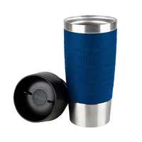 Tefal Travel Mug Green Blue Silver 0.5L