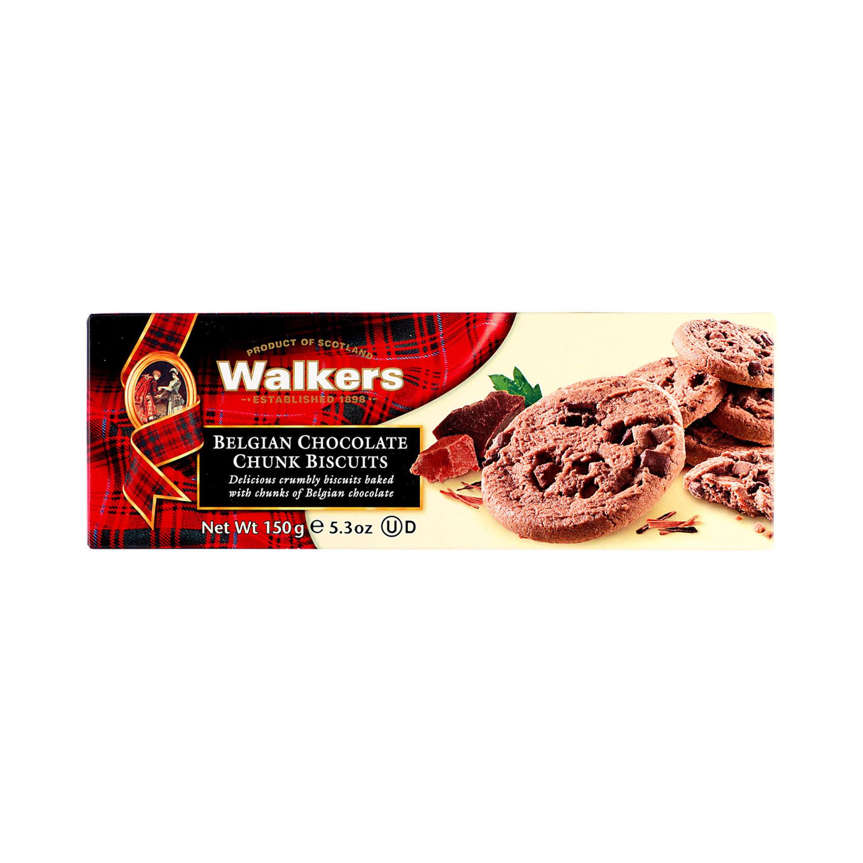 WALKERS CHOCOLATE CHUNK 150GR