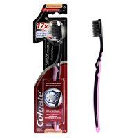 Colgate Slim Soft Black Charcoal Toothbrush Multi Color 1 Pack