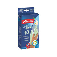 Vileda Multi Strong & Care Disposable Gloves 10 Pairs Meduim/Large
