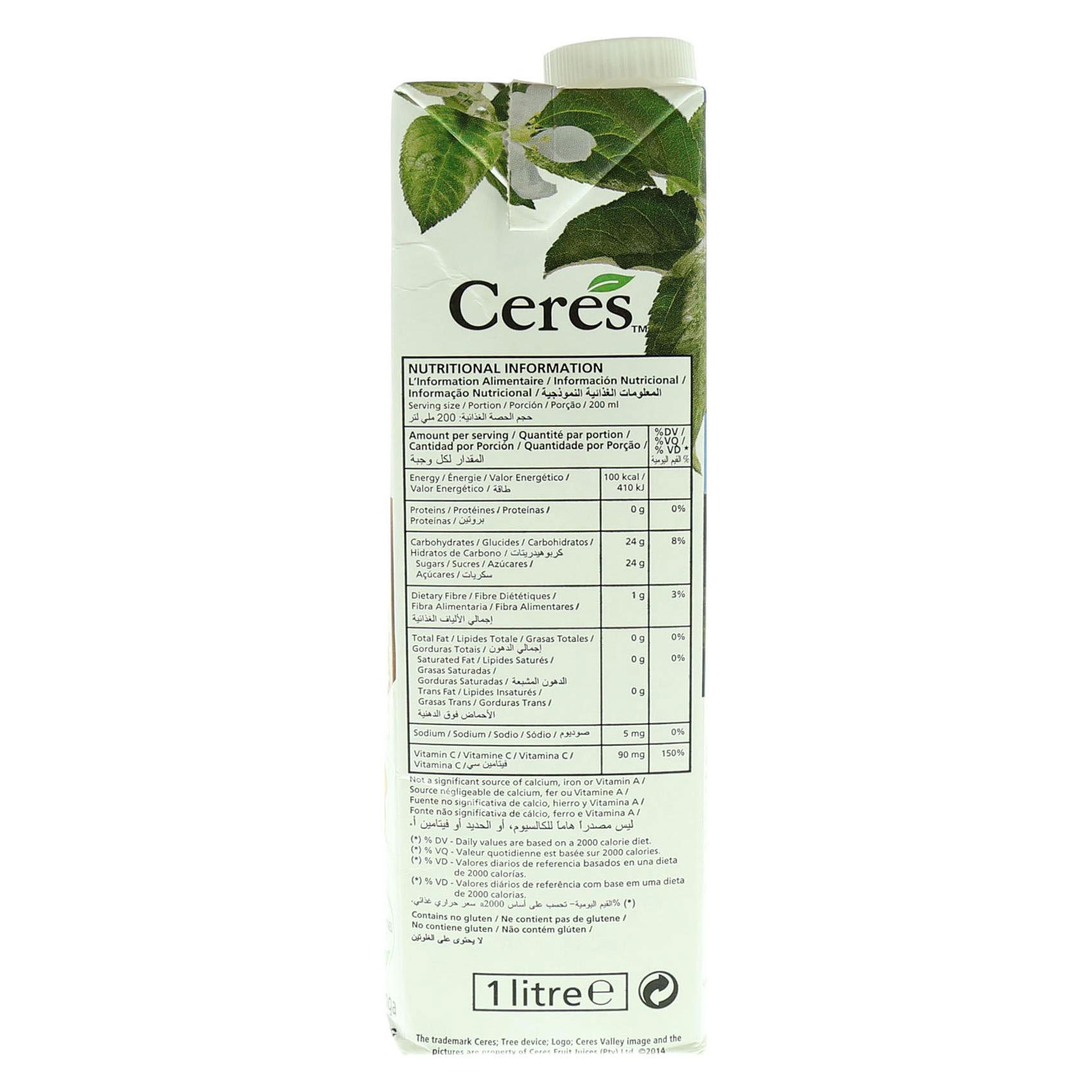 CERES JUICE MANGO 1L