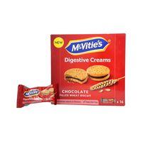 ماكفيتيز دايجستف بسكويت بكريمة الشوكولاتة 44 غرام 16 غرام