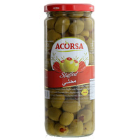 Acorsa Stuffed Green Olives 470g
