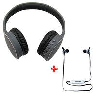 Toshiba Bluetooth Headphone BT 180H + Bluetooth Earphone BT110E