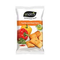 Snatts Mediterranean Snack Paprika 120GR
