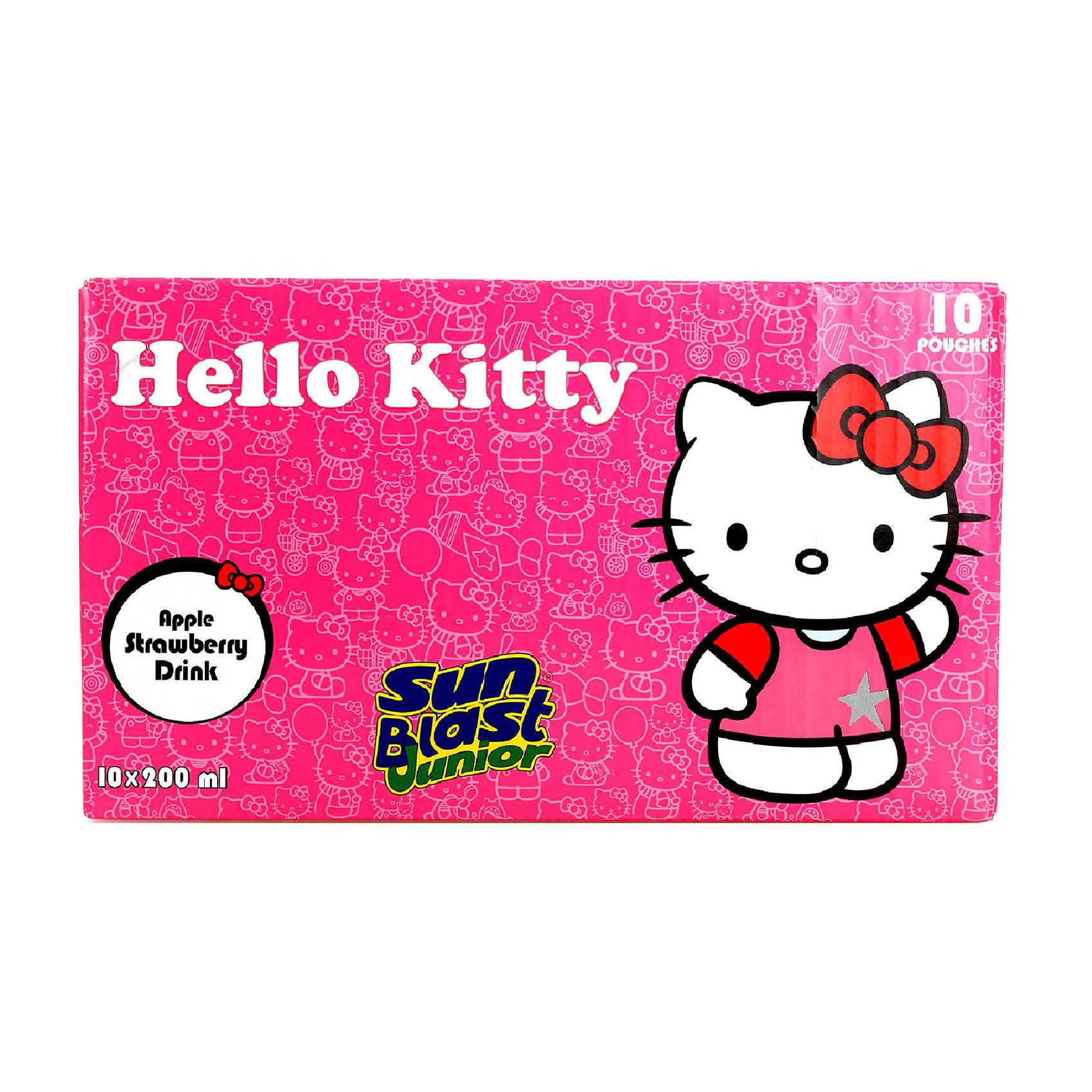 SUNBLAST HELLO KITTY 200MLX10
