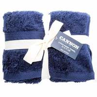 Cannon Hand Towel 2pc set Mid Blue 41X71cm