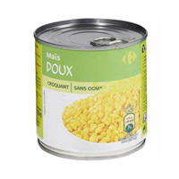 Carrefour Mais Grain 300GR