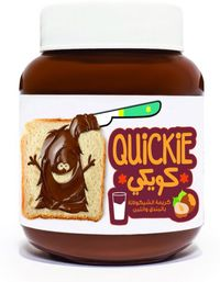 QUICKIE CHOCOLATE SPREAD NUT 350G