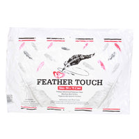 Feather Touch Pillow 50X75 White