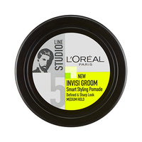 L'Oreal Paris Studio Line Gel Pot Invisi Groom Smart Styling Pomade Medium Hold 75ML