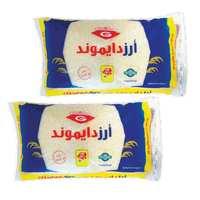 Diamond Medium Grain Rice 4 Kg 2 Pieces