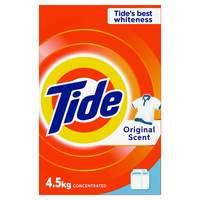 Tide Laundry Powder Detergent Original Scent 4.5kg