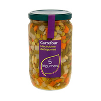 Carrefour Vegetables Salad 720ML