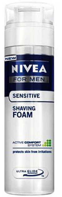 Nivea Men Sensitive Cool Shaving Foam 200ml