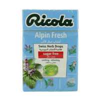Ricola Alpen Fresh Swiss Herbal Drops 45g