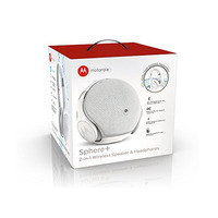 Motorola Headphones Sphere Bluetooth 2 in 1 White