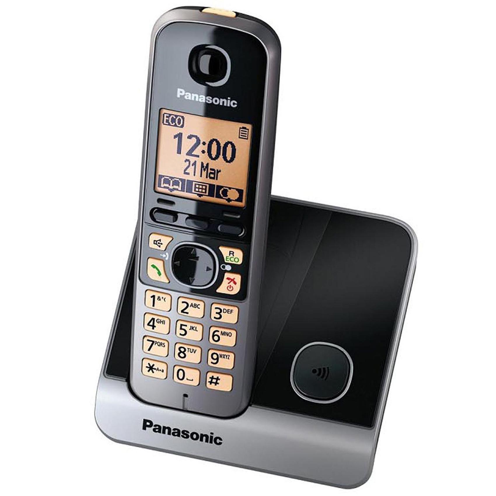 PANASONIC KX-TG6711UEB DECT PHON BK