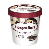 Haagen Dazs Ice Cream Cookies & Cream 500ml